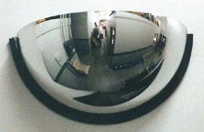 "Picture of 18"" Half Dome Security Mirror"