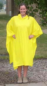 Picture of Yellow Poncho