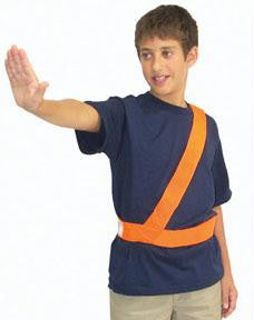 Picture of Orange Safety Patrol Belt - Large