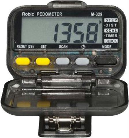 Picture of Robic Walking & Running Mode-Scanning Pedometer