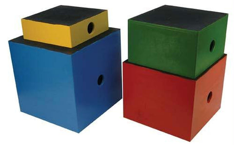Picture of Wooden Plyometric Boxes - Set of 4