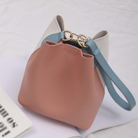 Panelled Larger shoulder Bags