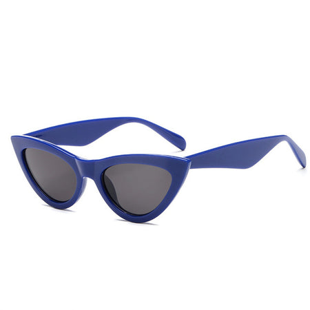 Cute Retro Triangle Cat Eye Sunglasses