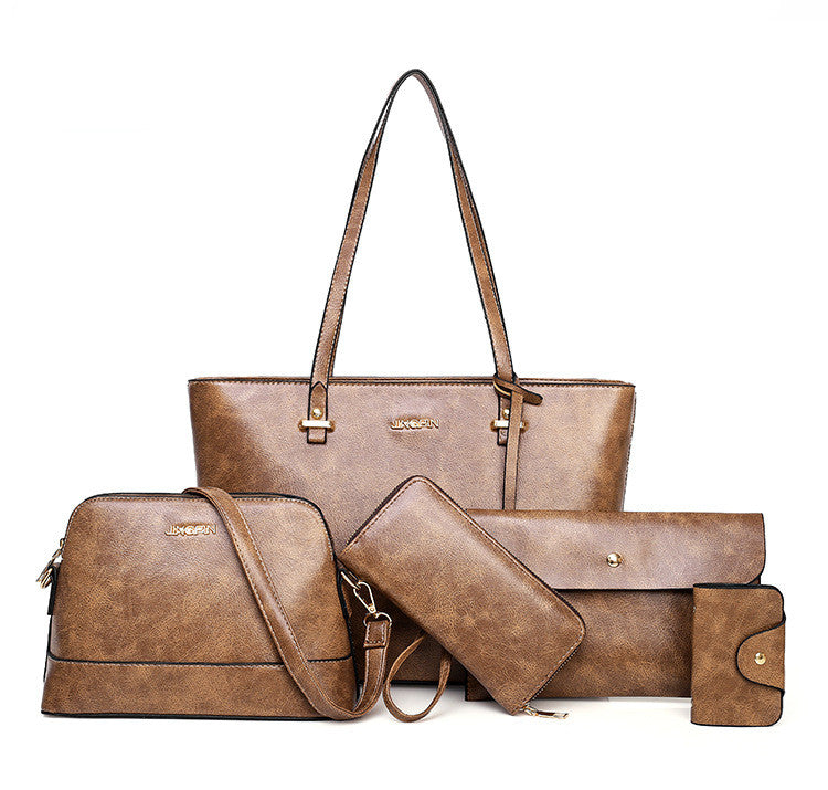 Five Piece Handbag Set