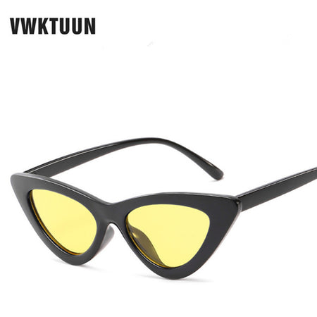 Cat Eye Vintage Triangle Sunglasses