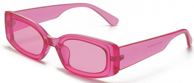 90's Rectangle Statement Sunglasses