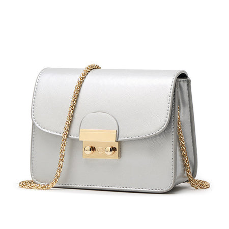 Faux leather Flap Bag