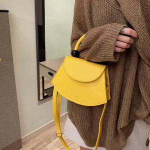 Fashion Smiley Synthetic Leather Bag