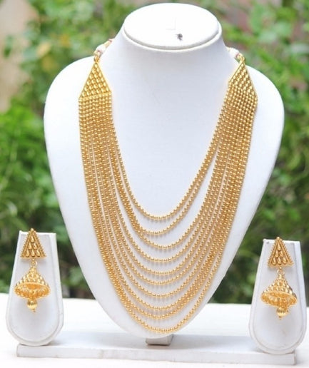 Amazing 10 Layer Mala Necklace Set