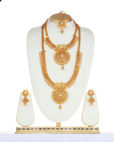 Attractive White Color Haram Set For Women