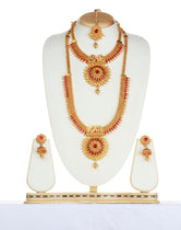 Classy Maroon Color Haram Set For Women