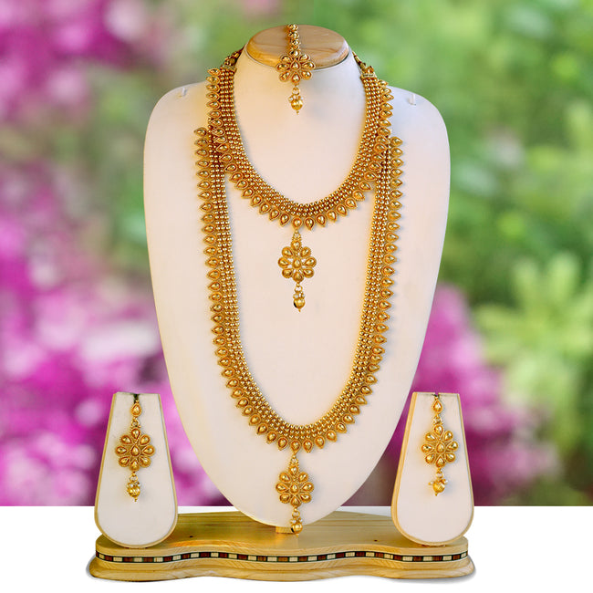 Gold plated Antique necklace