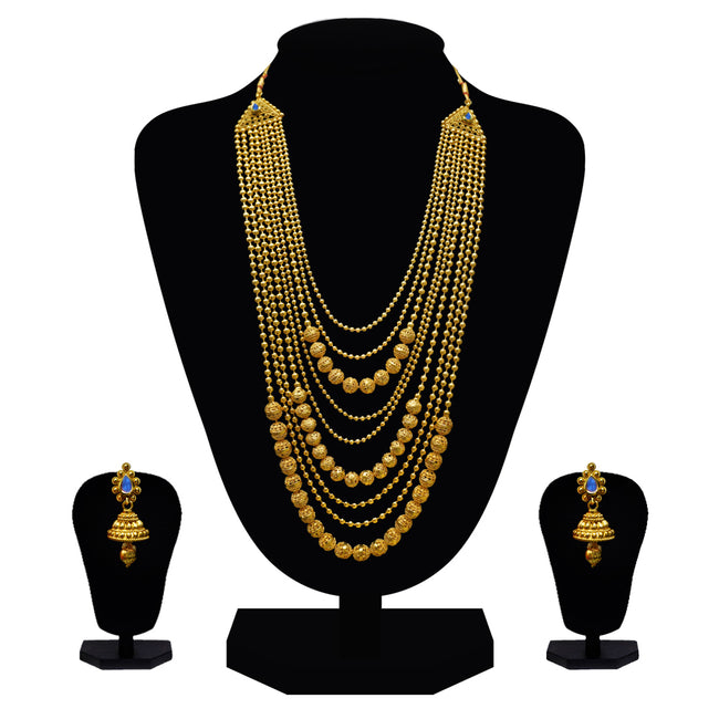 Artificial long Layer necklace set