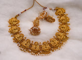 Laxmi desing short necklace set