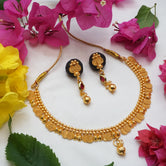 Shiny Gold Plated Jewellery For Women