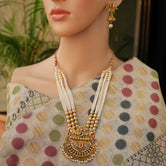 Kediya Design Multicolor Necklace Set