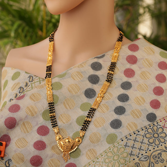 Traditional Gold Chain Artificial Mangalsutra