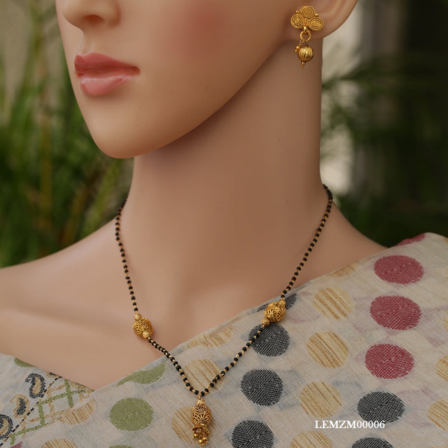 Traditional New Look Gold Chain Artificial Mangalsutra