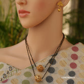 Double Gold Plated Look Artificial Mangalsutra