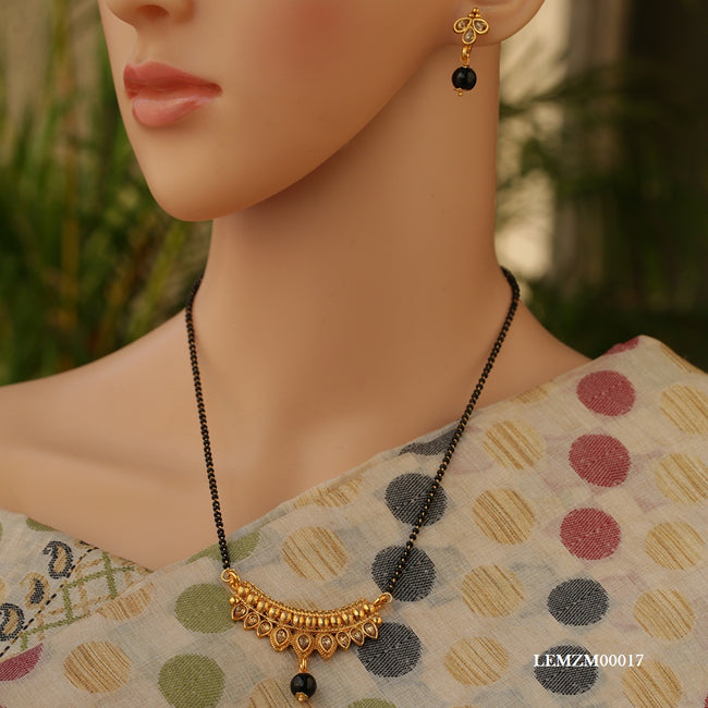 Designs Party Wear AD mangalsutra