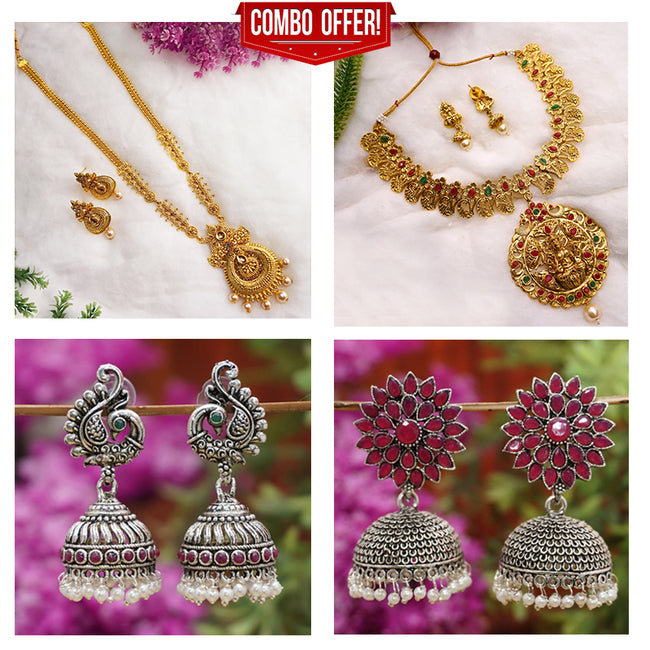Combo Product- Necklaces & Earrings