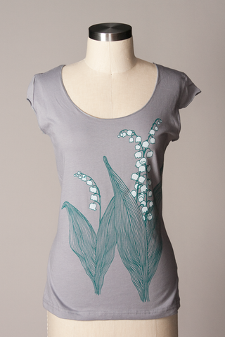 Lily of the Valley Scoop Tee