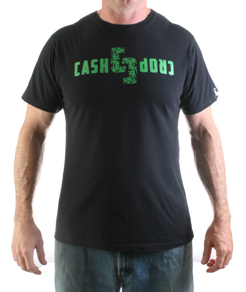 Cash Crop Leaf Logo T-shirt