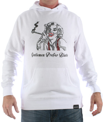 Gentlemen Prefer Blunts Hooded Sweatshirt