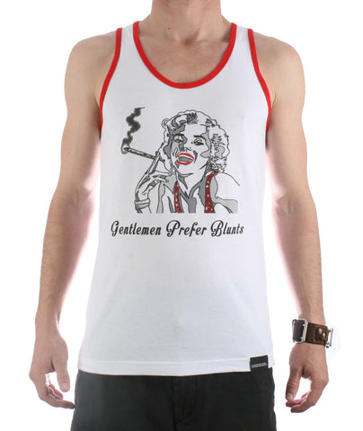 Gentlemen Prefer Blunts Tank Top