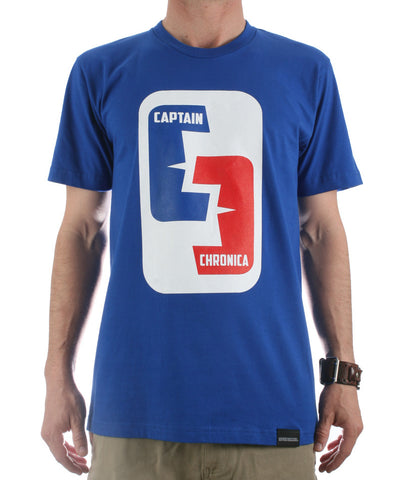 Captain Chronica NBA Logo T-shirt