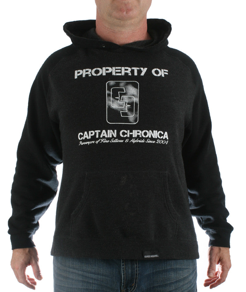 Property Of Captain Chronica Hooded Sweatshirt