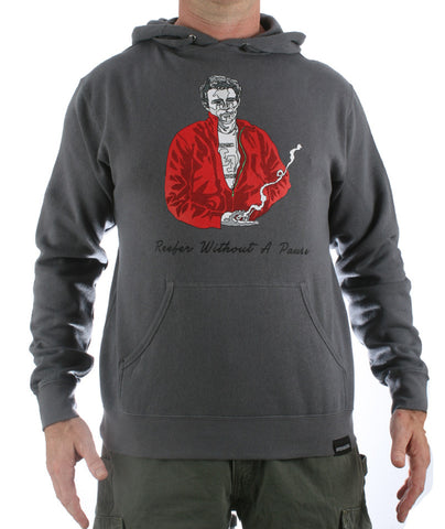 Reefer Without A Pause Hooded Sweatshirt