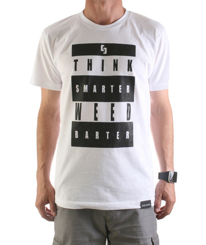 Think Smarter Weed Barter T-Shirt