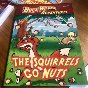 Buck Wilder Chapter Books