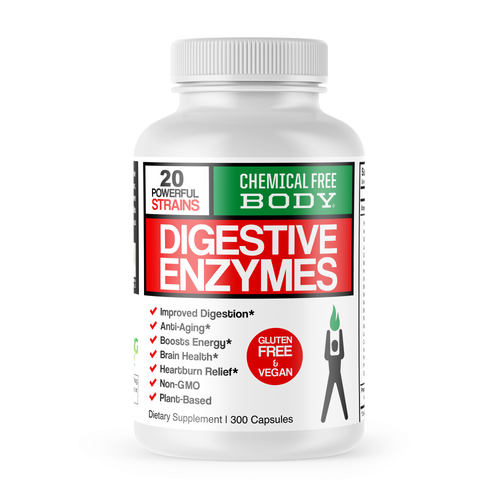 Digestive Enzymes - 300 Caps (3 months supply) SAVE 10%