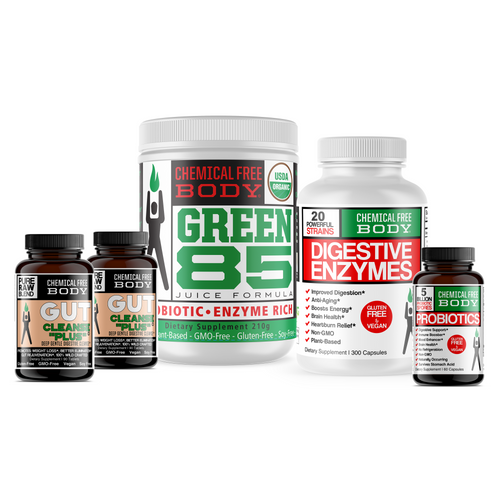 Ultimate Gut Cleanse Pack - Detox