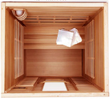 Clearlight Premier IS-2: 2 Person Far Infrared Sauna SAVE $400 + FREE SHIPPING