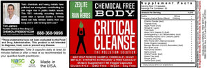 Critical Cleanse Zeolite Formula SAVE 10%