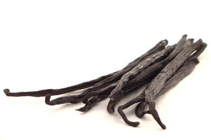 Organic Sun- Cured Vanilla Bean - Different Quantities Available