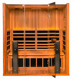 Clearlight Sanctuary 3 Full Spectrum Infrared Sauna: 3 person SAVE $400 + FREE SHIPPING