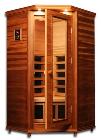 ClearLight Far Infrared Premiere Cedar Sauna - 1 person
