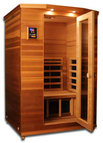 ClearLight Far Infrared Premiere Cedar Sauna - 2 person IS-2