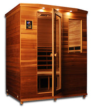 ClearLight Far Infrared Premiere Cedar Sauna - 3 person IS-3