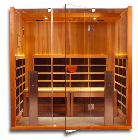 Clearlight Sanctuary Y: 4 Person Full Spectrum Infrared Yoga Sauna SAVE $400 + FREE SHIPPING