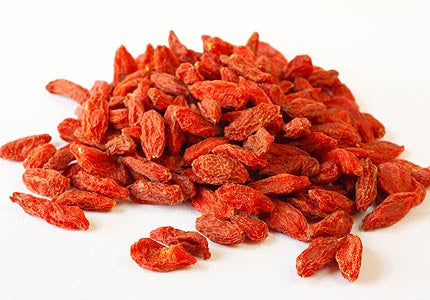 Natural Zing Raw Organic Goji Berries - Different Quantities Available