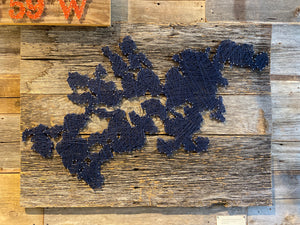 Lake Minnetonka String Art