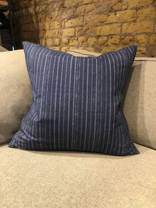 Bengal Stripe Indigo Pillow
