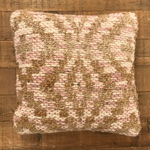 Lilac Beige 18x18 Pillow