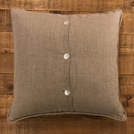 "Word Yarn Welt Pillow 22x22 - ""Live..Travel.."""