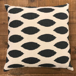 22x22 One of a Kind Pillow - Blue and White